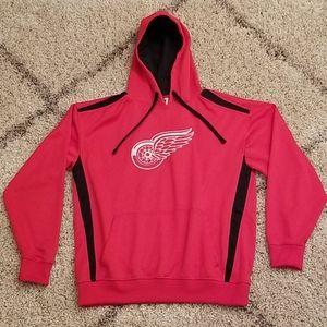 Detroit Red Wings Team Logo Pullover Hoodie L